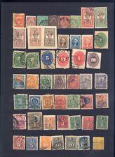 sehr alte exotische Briefmarken auf A4 Steckkarte weltweit 6