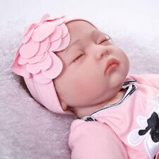 "22"" Soft Vinyl Silicone Reborn Baby Dolls Realistic Newborn Girl Doll Xmas Gifts"
