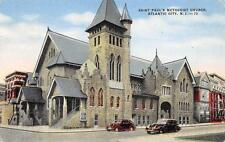 Saint Paul's Methodist Church Atlantic City NJ New Jersey Vintage Postcard 1956
