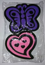 Large Foam Rubber Stamp Butterfly Heart NEW Unused