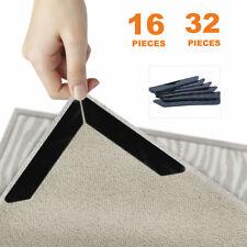 16/32 Rug Gripper Pads Anti Curling Non Slip Carpet Anchors Super Sticky Holders