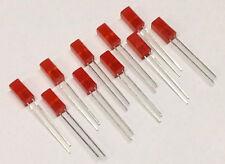 10 Stück LED Quadratisch 5 x 5 mm Rot Kingbright (M6412)