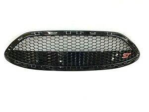 2014-2019 Ford Fiesta ST black Honeycomb Front Grille Cover new OEM