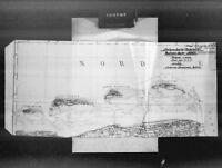 Karten von Befestigungsanlagen - Deutschland-Frankreich-Niederlande 1939 - 1945