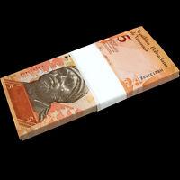 【Brick】1000 PCS, Venezuela 5 Bolivares, random year,  P-89, UNC, 10 bundles