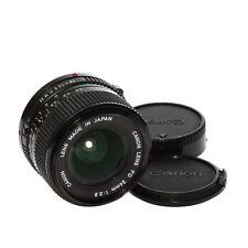 Canon Fd Lente 24mm 1:2,8 Lente Gran Angular Del Comerciante
