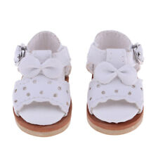 1/6 BJD PU Leather Shoes Bowknot Shoes Sandals For SD YOSD BF DZ Dolls