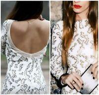 Zara Femmes Robe Paillettes Taille S