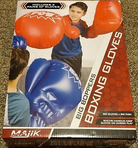 Majik Big Boppers Boxing Gloves For Kids New