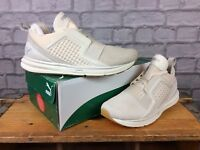 PUMA MENS UK 7 EU 40.5 IGNITE LIMITLESS CREAM TRAINERS RRP £90