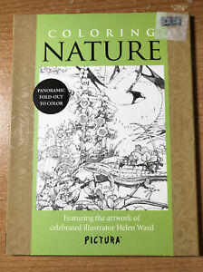 Coloring Nature: Featuring the artwork of celebrated illustrator Helen Ward (Pi
