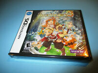 Rune Factory 3: A Fantasy Harvest Moon (Nintendo DS) Lite DSi XL NEW & Sealed