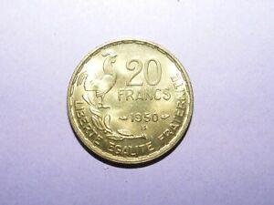 PIÈCE MONNAIE 20 FRANCS 1950 B GEORGES GUIRAUD / 3 F / B5785