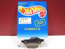 Hot wheels RARE 67 Camaro MMSB Pre Production Pilot carded Sample 1995 employee