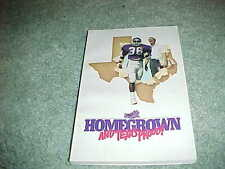 1985 TCU Horned Frogs Football Media Guide