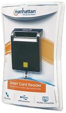 I-CARD CAM-USB2 Manhattan Lettore/Scrittore di Smart Card Usb 2.0 Nero Compatto