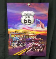 3D Lenticular Poster Route 66- 12x16