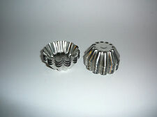 NEW  Metal Soy Wax Tart Moulds x 12 NEW