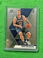 IGNAS BRAZDEIKIS MOSAIC SILVER CHROME ROOKIE KNICKS 2019-20 MOSAIC BASKETBALL RC