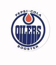 Vintage 1970's Edmonton Oilers WHA Hockey Decal/Sticker