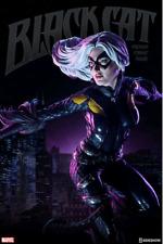 Marvel Sideshow Collectibles Spider-man Black Cat Premium Format 1:4 Statue