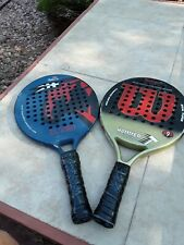 PADDLE TENNIS RACQUETS