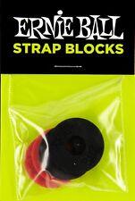 Ernie Ball Strap Blocks Po4603 4 Pack