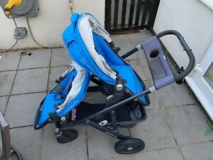 UPPAbaby Vista 2017 Marine Blue - Used w/ Bassinet, Rumble Seat and Accessories