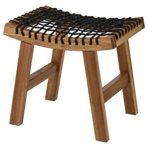 IKEA STACKHOLMEN Acacia Wood Stool No. 204.114.25 NIB