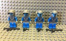 Lego MANDALORIAN lot of 4 Minifigure Jet Pack Blaster Visor STAR WARS 7914 9525