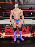 Justin Gabriel rare - Basic Series 39 - WWE Mattel Wrestling Figure