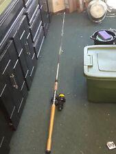 Vintage Fishing Pole Rod Penn spinning reel