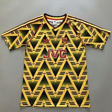 More details for 1991/93 arsenal bruised banana away retro football shirt vintage soccer jersey