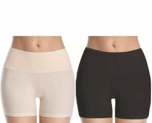 Ladies Womens Slimming Firm Control Shapewear Boxer Shorts Tummy & Bum Smooth UK