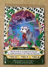 ROVER Mickey's Very Merry Christmas Party Card P12 Disney Sorcerer Magic Kingdom