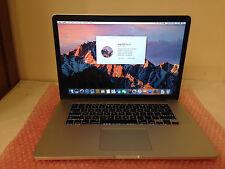 """Apple MacBook Pro 11,4 15"""" Intel Core i7 @ 2.5GHz 512GB SSD 16GB RAM (Mid-2015)"""