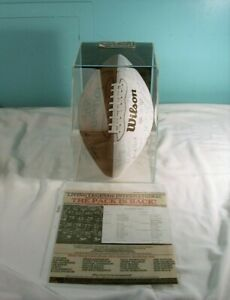 NFL Green Bay Packers Hand Signed, Autograph Football, Bart Starr, Jim Taylor ++