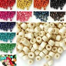 30g(700pcs Approx) Wood Spacer Beads Donut Loose DIY Charms 3x4mm BWWBSET02