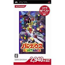 Used PSP Parodius Portable Konami the Best  Japan Import
