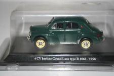 Hachette Eligor 1:43: Renault 4CV berline Grand Luxe type R 1060 - 1950, OVP