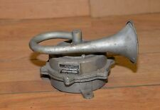 Federal signal siren model 50 brass horn collectible fire railroad vintage tool