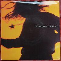 "Simply Red – Thrill Me 7"" – YZ 671 matrix A1/B1 – Ex"