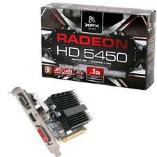 Scheda Video Pci-E XFX HD5450 DDR3 1GB HDMI DVI Passiva HD-545X-ZCH2