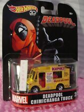 Marvel Deadpool Chimichanga Camion✰ Giallo; Rosso; Real Rider ☯ 2018 Hot Wheels