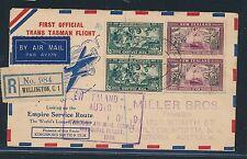98101) First Off. Trans Tasman Flight Reco Wellington - Melbourne 1.5.40