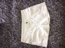 GIRLS AGE 14A ARMANI TEEN WHITE JEAN SHORTS GOOD CONDITION 100% AUTHENTIC