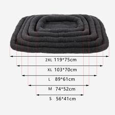 Pet Dog Cat Bed 2xl Mats Large Plush Washable Cushion Anti-slip Lambswool Pad