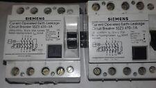 2x Siemens 5SZ3 420 - 3A Interruttore Automatico'S