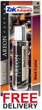 Areon Quality Car/Home Perfume Cardboard Air Freshener BLACK CRYSTAL - 35ML*NEW*