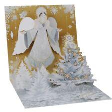 Pop-Up Christmas Card Trearures by Popshots Studios - Golden Angel